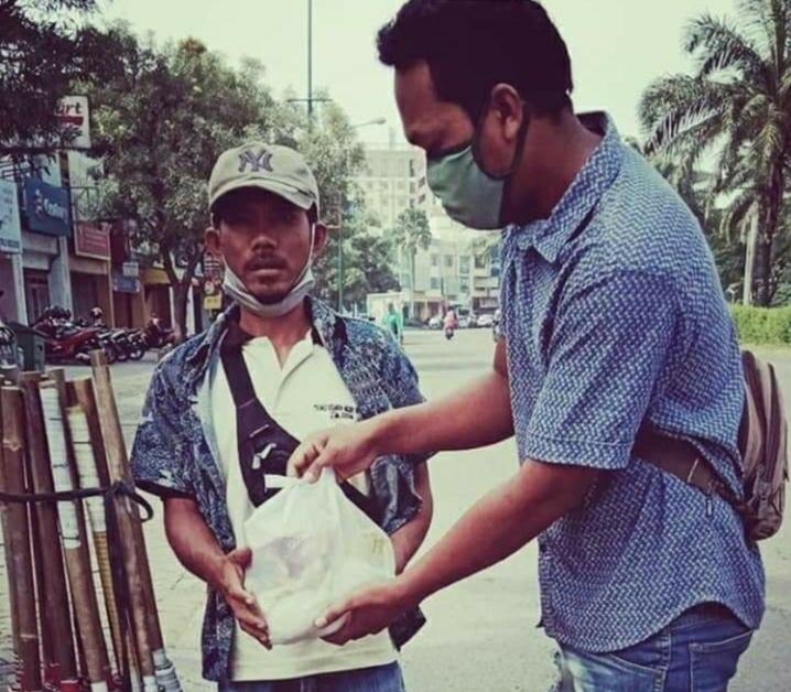 IKPAS  Sergai Salurkan 200 Paket Sembako Jelang Ramadhan Kepada Warga Jabodetabek