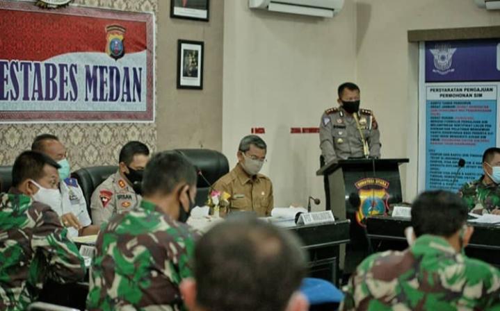 Cegah Covid-19, Pemko Medan Akan Sekat Jalan Jelang Konvoi Malam Takbiran
