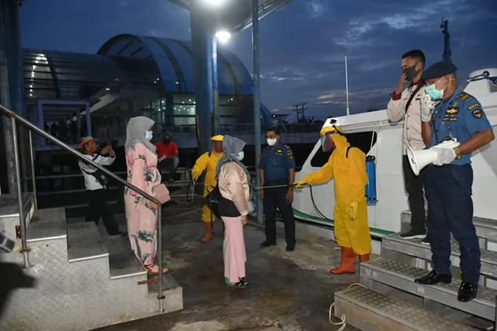 Bahagia 133 Warga Tanjungbalai yang Dijemput dari Malaysia