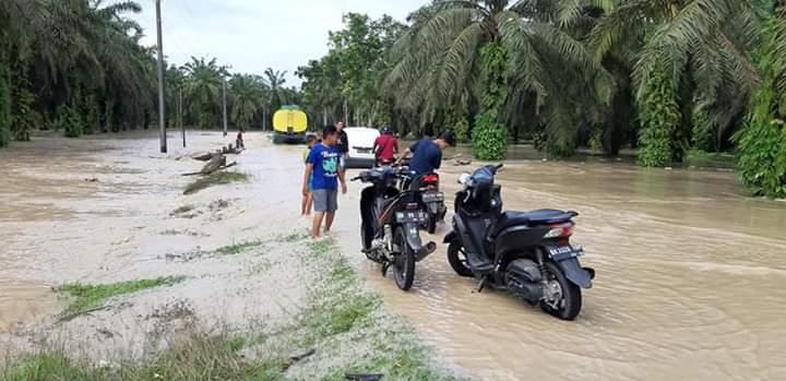 Sungai Silau Meluap, Tujuh Desa di Asahan Terdampak Banjir
