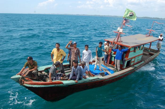 Dihantam Ombak, Seorang Nelayan Asahan Hilang di Laut