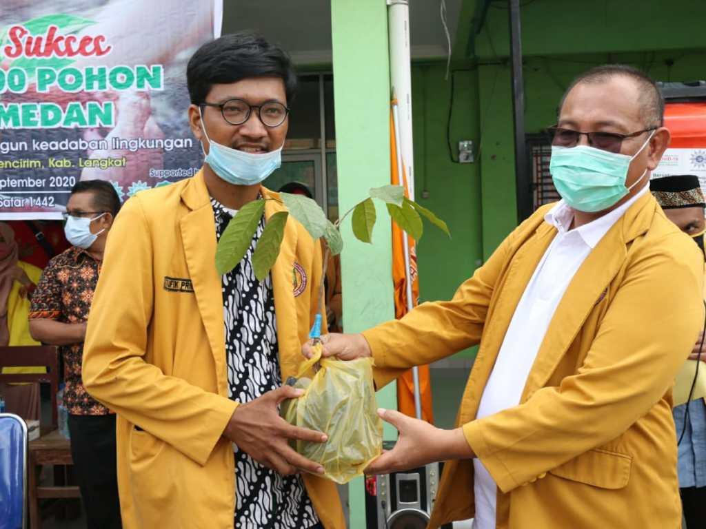IPM Kota Medan Tanam 2.000 Pohon di Langkat