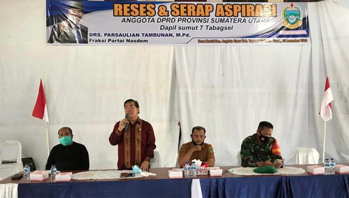 Reses Di Kecamatan Angkola Timur, Anggota DPRD Sumut Ini Serap Aspirasi Dari Berbagai Elemen Masyarakat