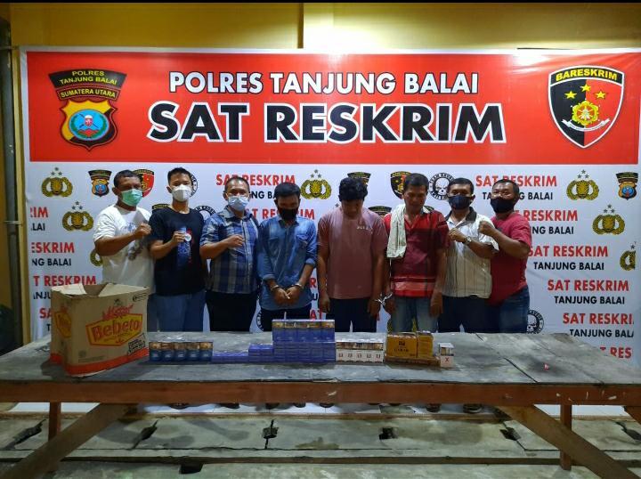 Kios Rokok Dibobol Maling, Pencuri dan Penadah Tertangkap Bersamaan