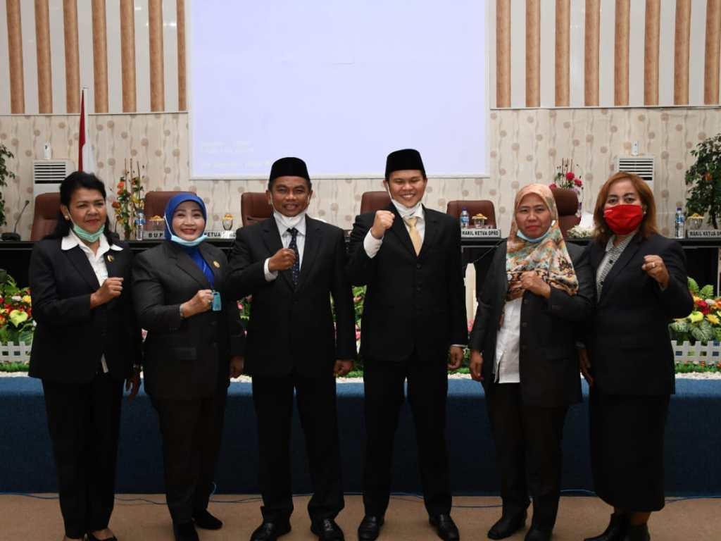 DPRD Umumkan Darma-Adlin Jadi Bupati dan Wabup Sergai