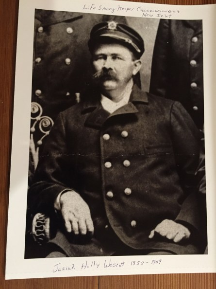 Josiah Holly Wescott Served at Chicamacomico and New Inlet Stations