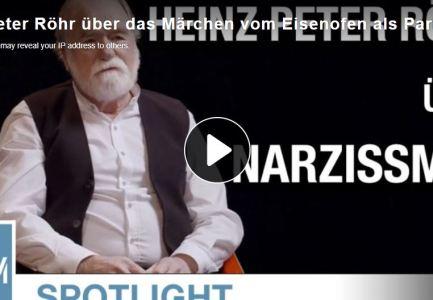 KenFM-Spotlight: Heinz Peter Röhr über das Märchen vom Eisenofen als Parallele zum Narzissmus