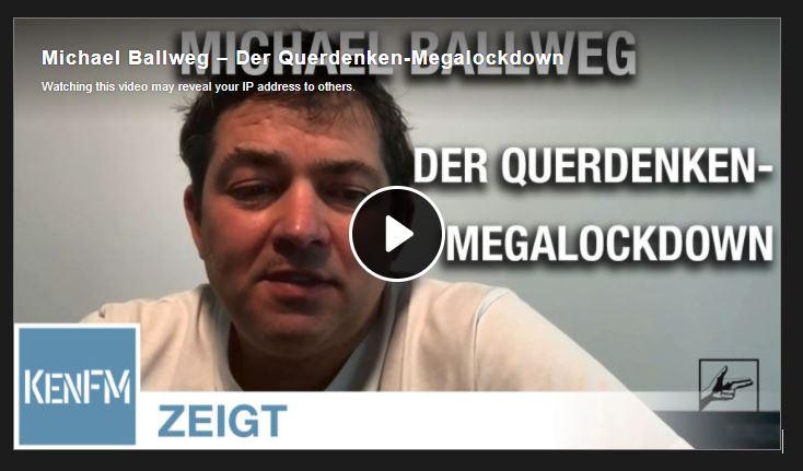 Michael Ballweg – Der Querdenken-Megalockdown