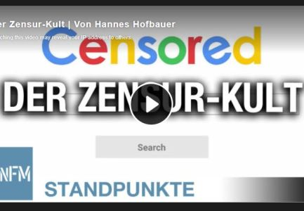 Der Zensur-Kult   Von Hannes Hofbauer