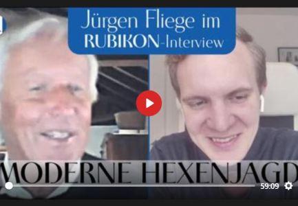 """RUBIKON: IM GESPRÄCH: """"MODERNE HEXENJAGD """" (JÜRGEN FLIEGE UND FLAVIO VON WITZLEBEN)"""