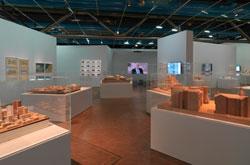Vue de l'exposition « Frank Gehry »