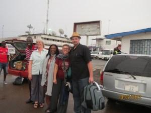 2012 Liberia Team leaders