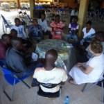 Sierra Leone Loretta, Debey with local partners