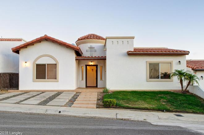 Ocean View Home For Sale in Rancho Descanso, Rosarito Beach