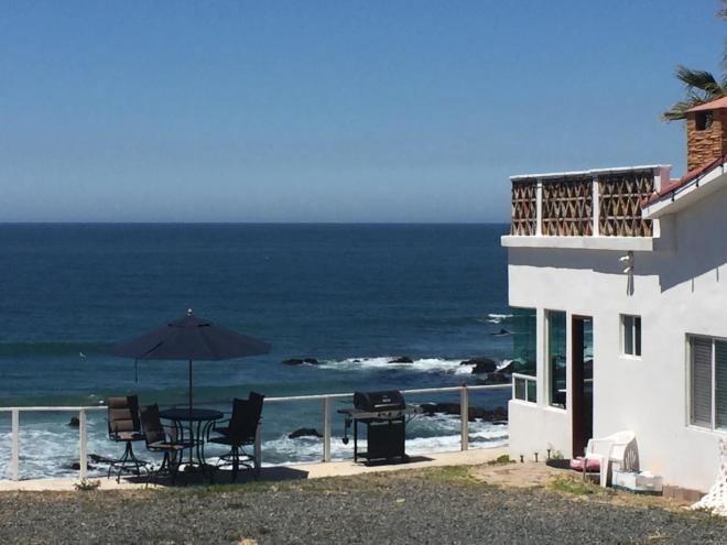 Popotla Oceanfront Home