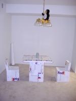 Fedex-huonekaluista tuli mediakohu.