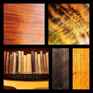 Hardwood, stained heart pine shedu, builder