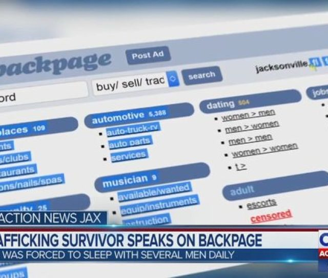 Backpage Com Jacksonville Woman Claims She Was Forced To Make  A Day As A Sex Slave Wjax Tv