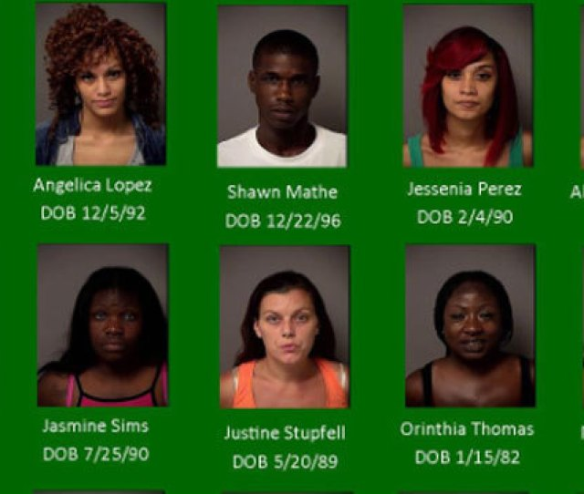 Authorities Arrested More Than  People In Connection With A Prostitution Sting In Osceola County On Wednesday