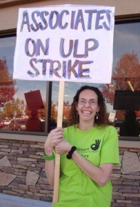 Barbara Collins, OUR Walmart activist.  Photo credit UFCW 2013.