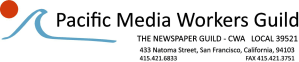 Pacific Media Workers Guild logo