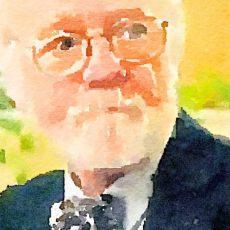 Russ Cain watercolor 2016