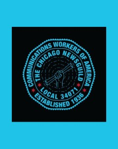 Chicago NewsGuild logo