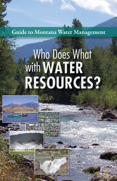 Montana Water Course Water-Management-Booklet Design and Layout 2014