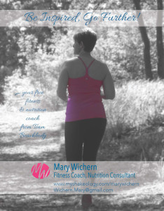 Postcard Design for Fitness Consultant Madison Wisconsin