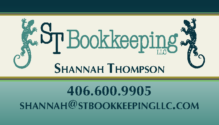 Business Card Design for Bozeman Bookkeeping Company_Page_1