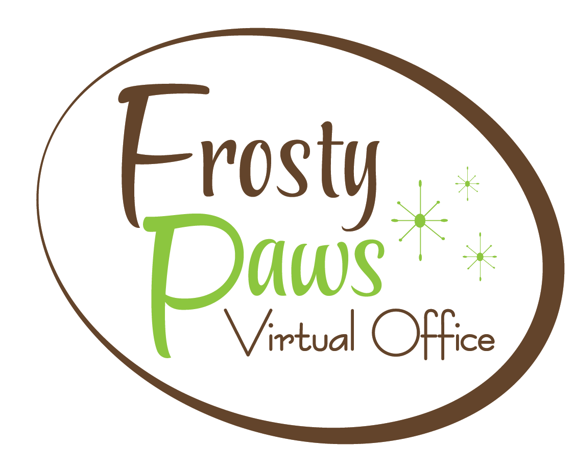 Frosty Paws Logo Design
