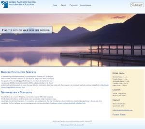 wordpress website design for bozeman mt doctor