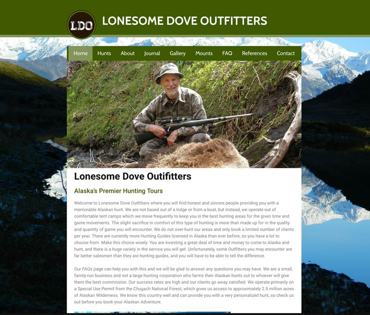 custom-wordpress-website-update-for-alaska-hunting-guide