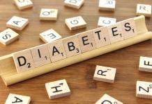 Diabetes word block