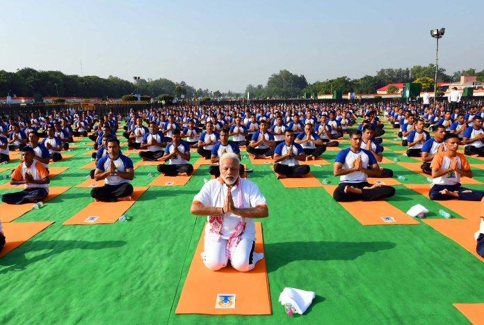 PM Modi at International Yoga Day