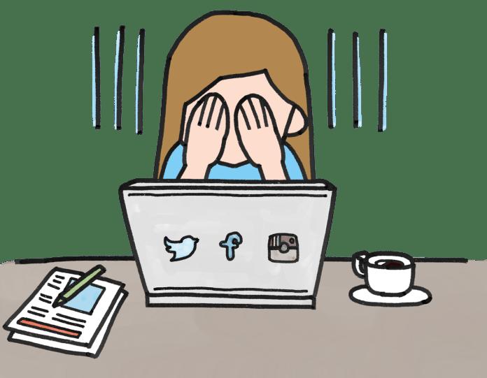 pain, depression, Facebook, social media