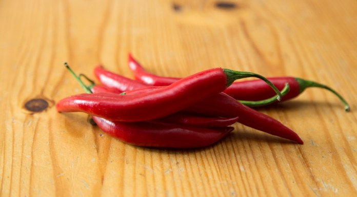 Red Pepper, Lung Cancer