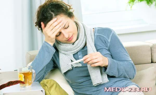Красное горло, все симптомы