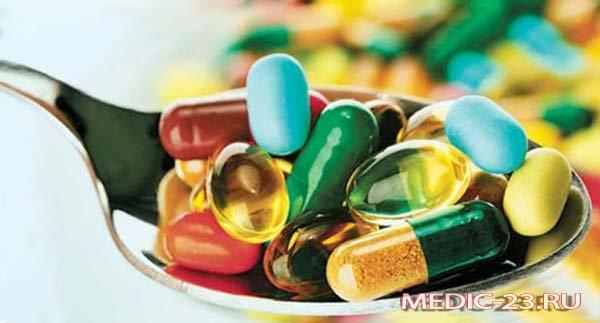 В составе препарата витамины