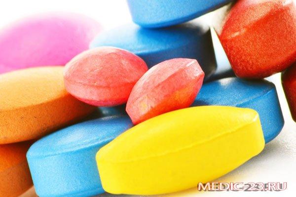 Большое количество витаминов