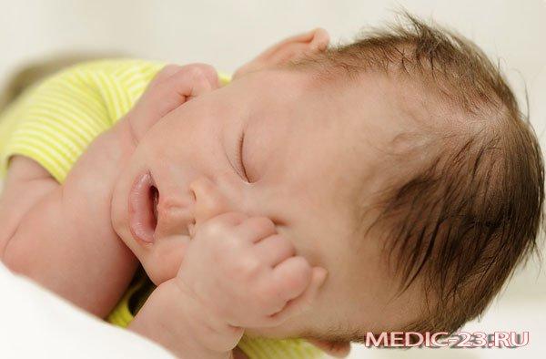 Сонливость у малыша