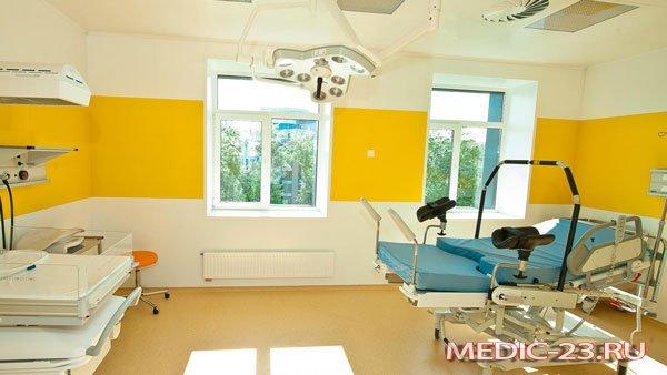 В кабинете клиники