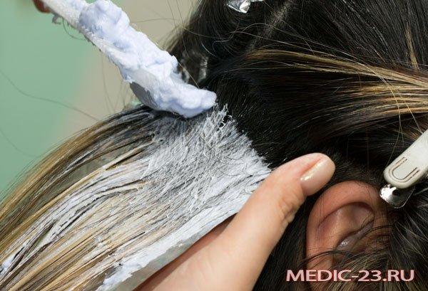 Окрашивание волос в свой цвет