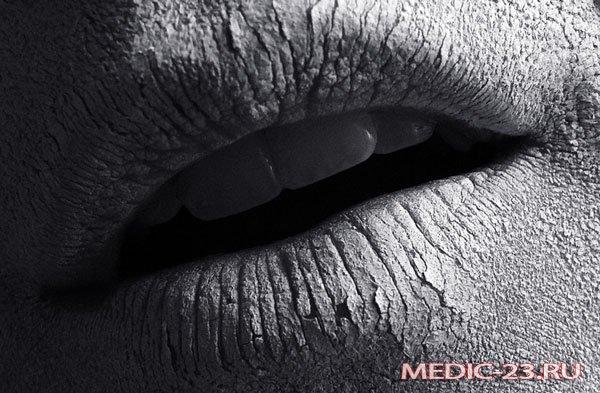 Сухой рот и губы