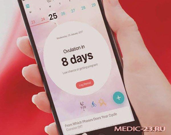 Мобильное приложение для женщин