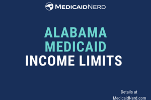 """What are the income limits for Medicaid in Alabama"""