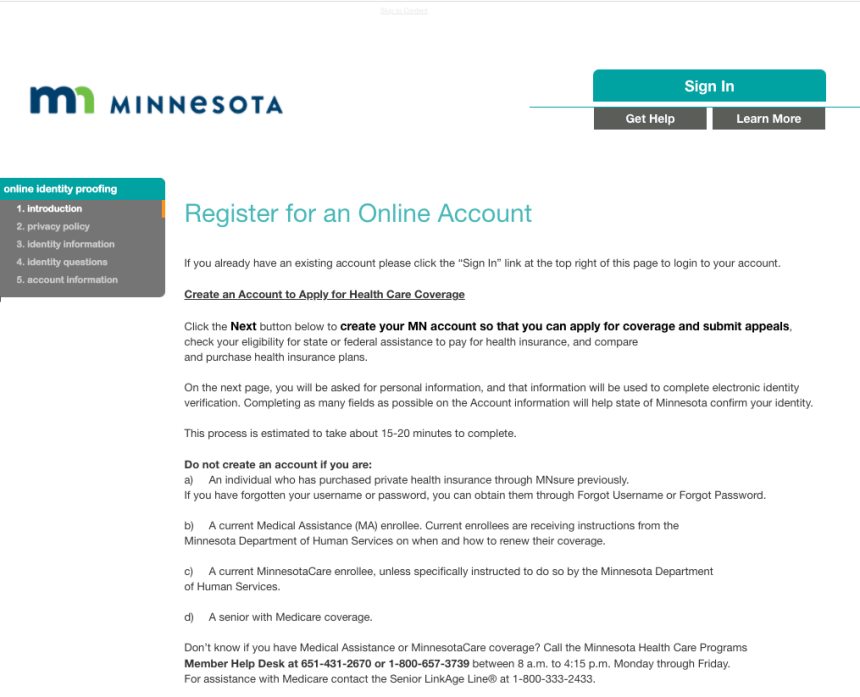 """Apply for Minnesota Medicaid Online"""