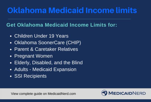 """Oklahoma Medicaid Income Limits"""