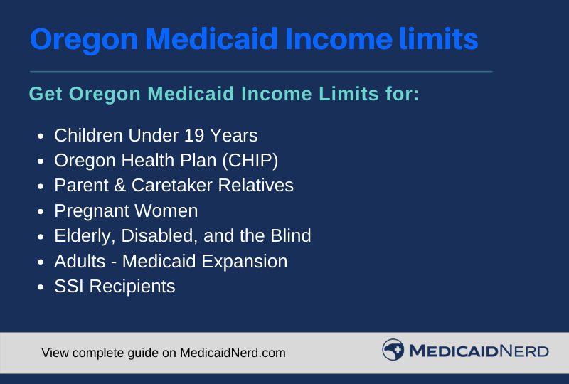 """Oregon Medicaid Income Limits"""