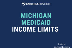 """What are the income limits for Medicaid in Michigan"""
